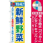 のぼり旗 特産!新鮮野菜 (21519) [プレゼント付]