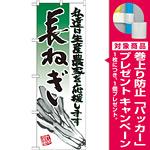 のぼり旗 長ねぎ イラスト (21932) [プレゼント付]