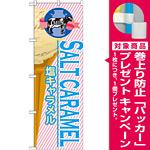 のぼり旗 アイス 内容:塩キャラメル (SNB-382) [プレゼント付]