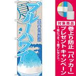 のぼり旗 ブルーハワイ (かき氷) (SNB-411) [プレゼント付]