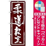 のぼり旗 柔道教室 (GNB-1017) [プレゼント付]