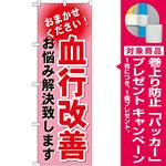 のぼり旗 血行改善 (GNB-1038) [プレゼント付]