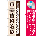 のぼり旗 審美歯科治療 (GNB-1471) [プレゼント付]