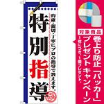 のぼり旗 特別指導 (GNB-1560) [プレゼント付]