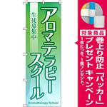 のぼり旗 アロマテラピースクール 生徒募集中 (GNB-2419) [プレゼント付]