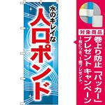 のぼり旗 人口ポンド (GNB-407) [プレゼント付]