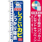 のぼり旗 しつこいカビ しっかり除去 (GNB-497) [プレゼント付]