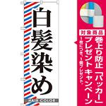 のぼり旗 白髪染め (GNB-511) [プレゼント付]