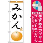 のぼり旗 みかん イラスト (H-368) [プレゼント付]
