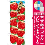 のぼり旗 いちご10連 (イラスト) (SNB-1437) [プレゼント付]