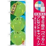 のぼり旗 りんご 青 (イラスト) (SNB-1439) [プレゼント付]