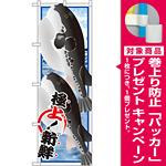 のぼり旗 ふぐ (イラスト) (SNB-1552) [プレゼント付]