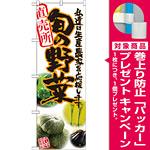 のぼり旗 旬の野菜 橙 写真 (SNB-2390) [プレゼント付]