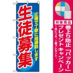 のぼり旗 (3228) 生徒募集 [プレゼント付]