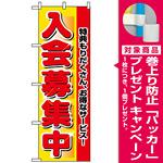 のぼり旗 (2651) 入会募集中 [プレゼント付]