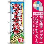 のぼり旗 (2791) ホワイトアスパラ [プレゼント付]