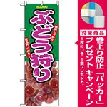 のぼり旗 (2823) ぶどう狩り 写真使用 [プレゼント付]
