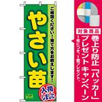 のぼり旗 (3248) やさい苗 [プレゼント付]
