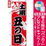 のぼり旗 (5027) 土用丑の日 [プレゼント付]