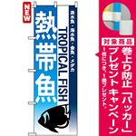 のぼり旗 (7520) 熱帯魚 [プレゼント付]