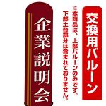 企業説明会 エアー看板(高さ3M)専用バルーン ※土台別売 (19285)