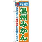 のぼり旗 特産!温州みかん (21480)