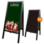 リムーバブルA型マジカルボード Xmas Fair サンタ デザイン:サンタ (22702)