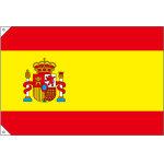 販促用国旗 スペイン サイズ:小 (23656)