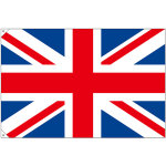 販促用国旗 イギリス サイズ:大 (23672)