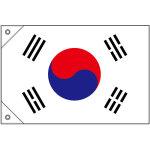 販促用国旗 韓国 サイズ:ミニ (23691)