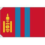 販促用国旗 モンゴル サイズ:小 (23704)