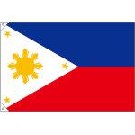 販促用国旗 フィリピン サイズ:小 (23719)