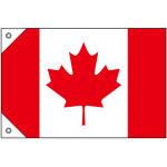 販促用国旗 カナダ サイズ:ミニ (23727)