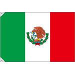 販促用国旗 メキシコ サイズ:小 (23731) ※受注生産品