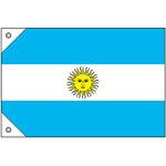 販促用国旗 アルゼンチン サイズ:ミニ (23733)