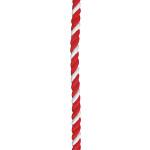 紅白幕紐 紐 9mm径 2間用(4.6m)(23953)