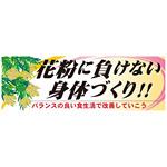 パネル 片面印刷 花粉に負けない身体づくり!! (60632)