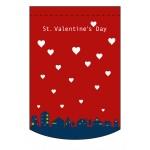 変形タペストリー バレンタインデー14 (60992)