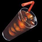 デコシール コーラ サイズ:ビッグ W600×H600 (61864)