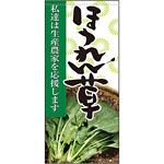 フルカラー店頭幕 ほうれん草 (受注生産品) 素材:ポンジ (63306)