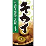 フルカラー店頭幕 キウイ (受注生産品) 素材:ポンジ (63321)