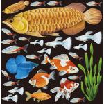 熱帯魚2 看板・ボード用イラストシール