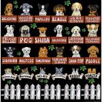ペット 犬 猫 看板・ボード用イラストシール
