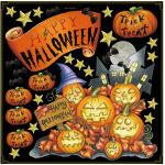 ハロウィン かぼちゃ ボード用イラストシール HAPPY HALLOWEEN(68540)