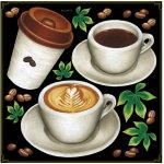 各種コーヒー ボード用イラストシール (68542)