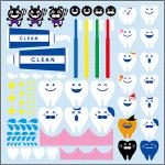 歯科(1) 看板・ボード用イラストシール