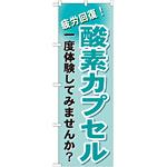 のぼり旗 酸素カプセル (GNB-1035)