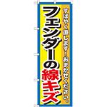 のぼり旗 フェンダーの線キズ (GNB-1497)