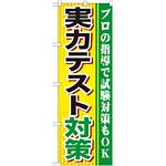 のぼり旗 実力テスト対策 (GNB-1600)