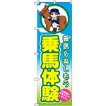 のぼり旗 乗馬体験 (GNB-2504)